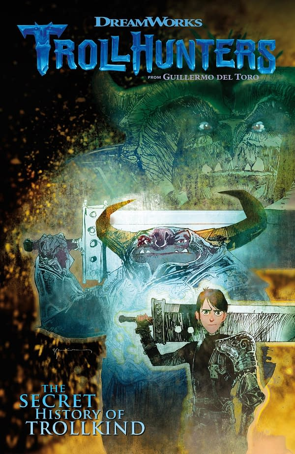 Guillermo Del Toro's Trollhunters Officially A Comic By Marc Guggenheim, Richard Hamilton And Timothy Green II