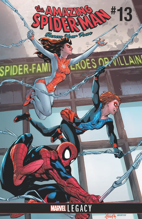 Spider-Man Swings 8 Years Into The Future In Jody Houser And Nick Roche's 'Renew Your Vows' For Marvel Legacy