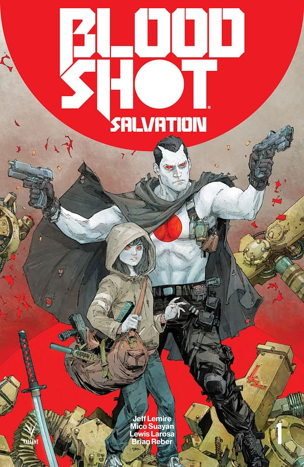 Valiant's Yearlong Road Map For Bloodshot Salvation Includes 4001, Shadowman, Dr. Mirage and More