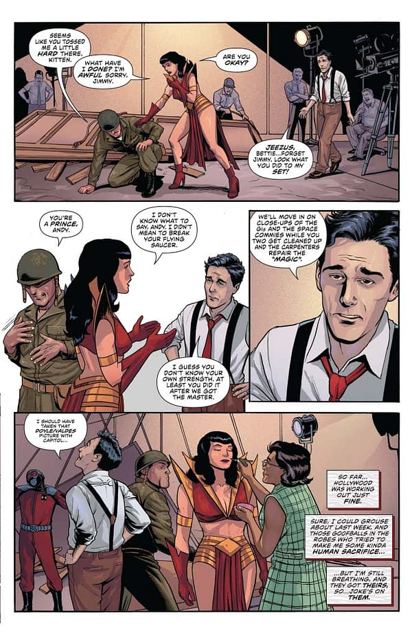 Writer's Commentary – David Avallone Talks Bettie Page #2