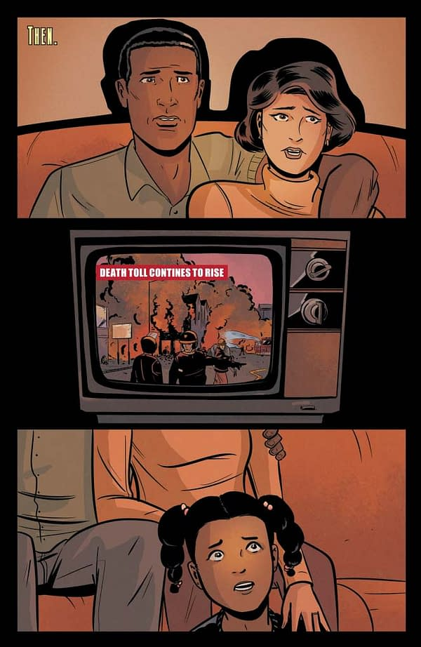 Exclusive Extended Previews – 'James Bond: Moneypenny' And 'Justice Inc.'