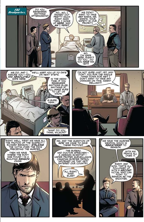 Writer's Commentary – Joe Gentile Discusses Justice Inc. The Avenger: Faces of Justice #2