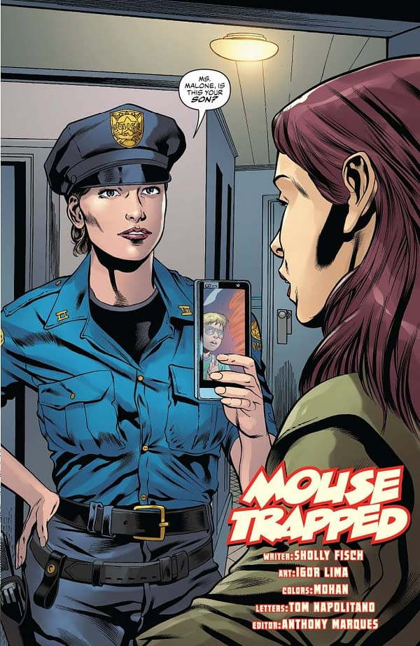 Writer's Commentary – Sholly Fisch Talks Mighty Mouse #3