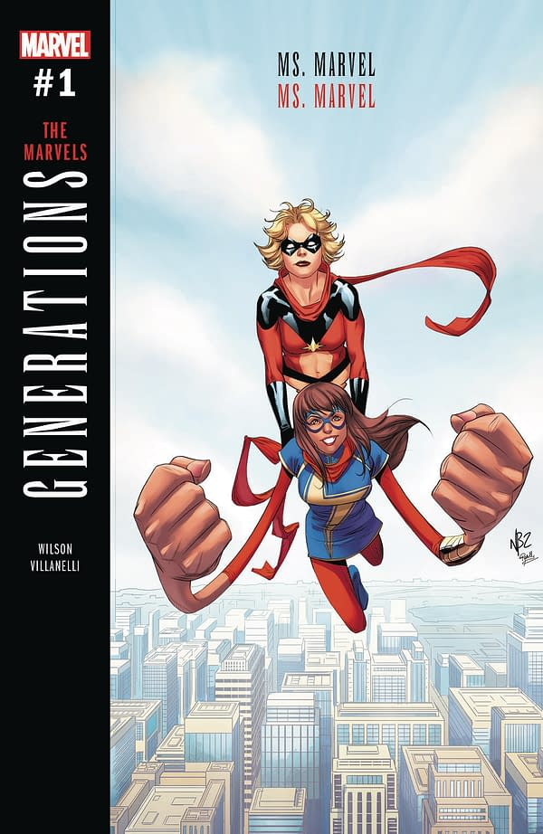 Ch-Ch-Ch-Changes – America, Ironheart And Ms Marvel