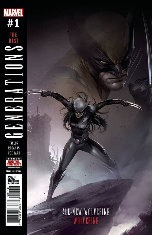 Second Printings For Marvel Comics: Generations, Weapons Of Mutant Destruction, And Darth Vader