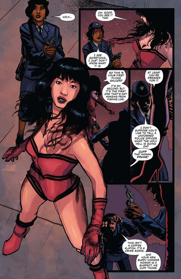 Exclusive Extended Previews For Bettie Page #3, Red Sonja #9, And Turok #2