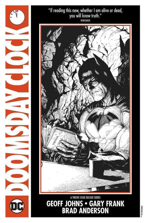 """In December, DC And Watchmen Characters Will """"Collide"""" In Doomsday Clock #2"""