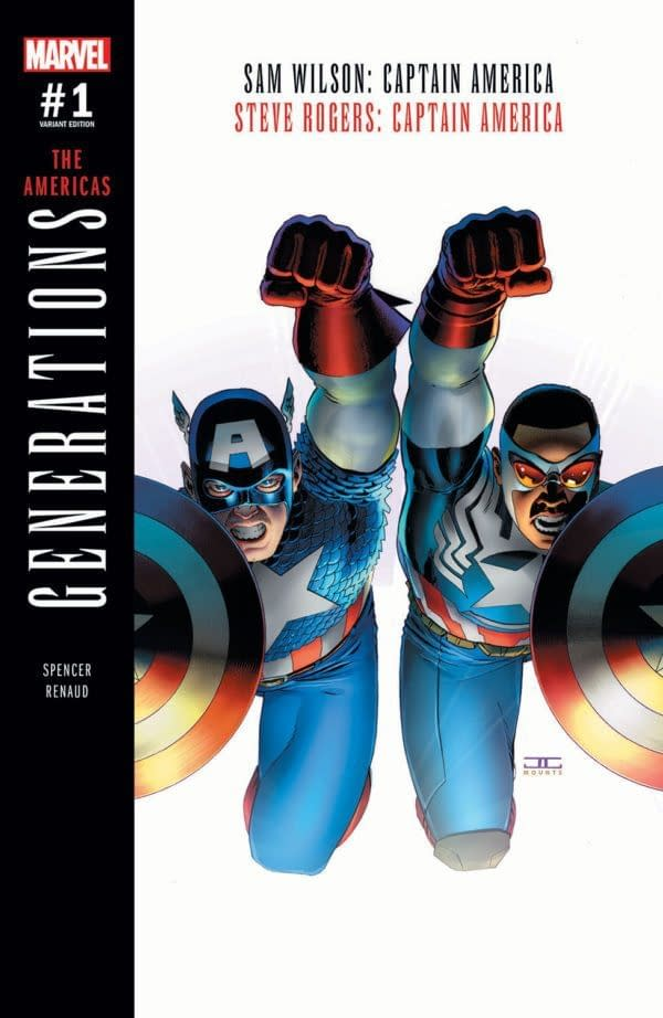 Second Prints For Marvel's Generations: Spider-Men and Captain Americas