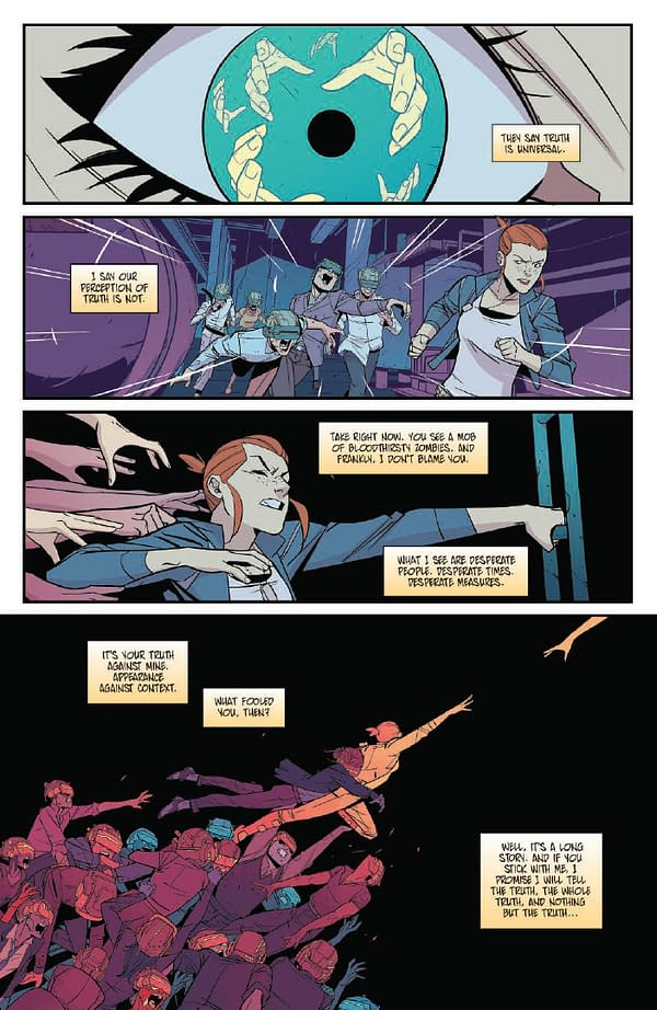 Colinet And Charretier Talk 'The Infinite Loop: Nothing But The Truth'