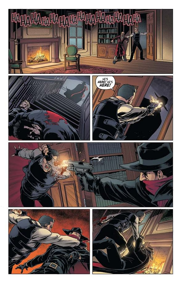 Writer's Commentary – Dan Watters Talks The Shadow #2