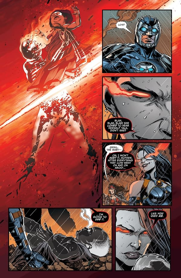 Remember Everyone, Darkseid Is A Baby Now (SPOILERS)