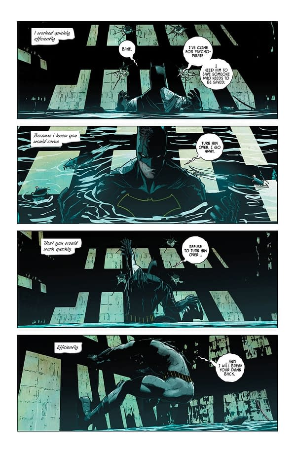Tom King's Batman #10 Dialogue Repetition Edited For Rebirth Hardcover Collection