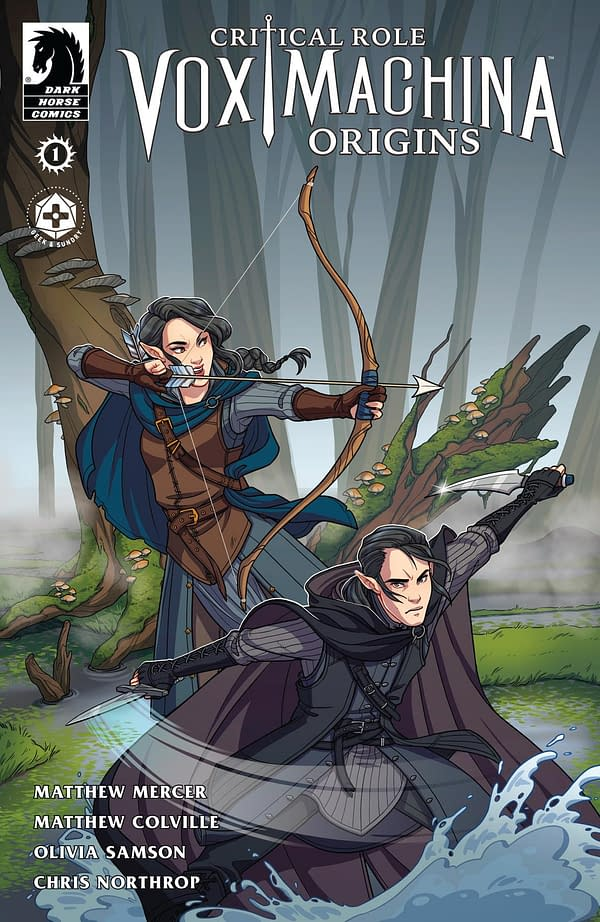 Critical Role Gets A Comic Book Origin For The Vox Machina, Out Now