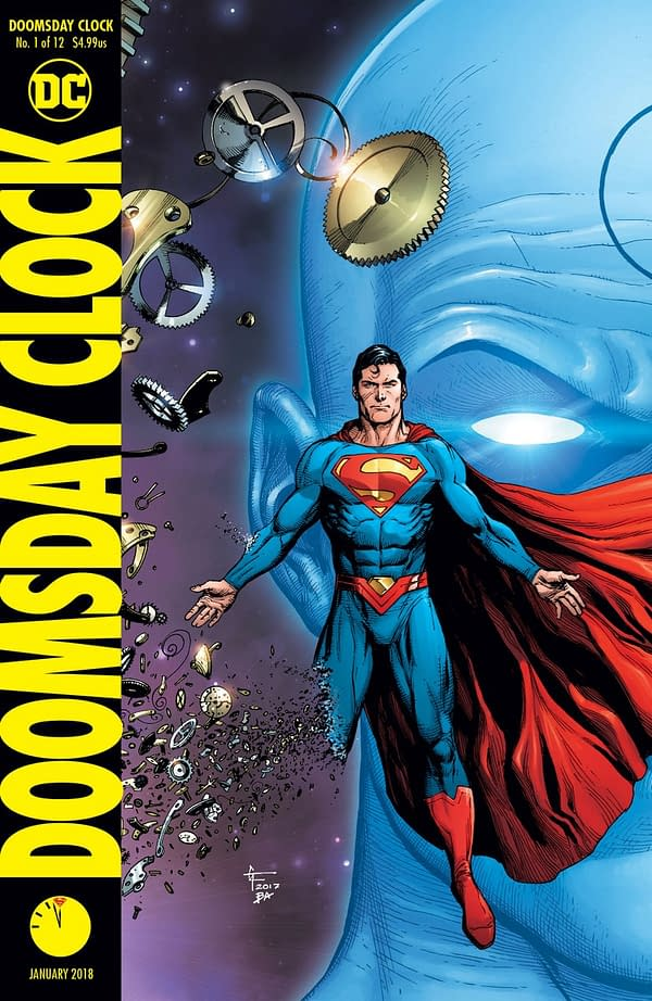 Doomsday Clock Is Set On The Weekend Of The Release Of The Death Of Superman #75