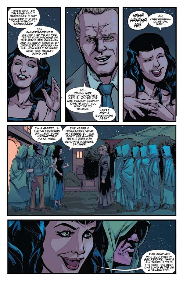 Writer's Commentary – David Avallone Talks Bettie Page #4