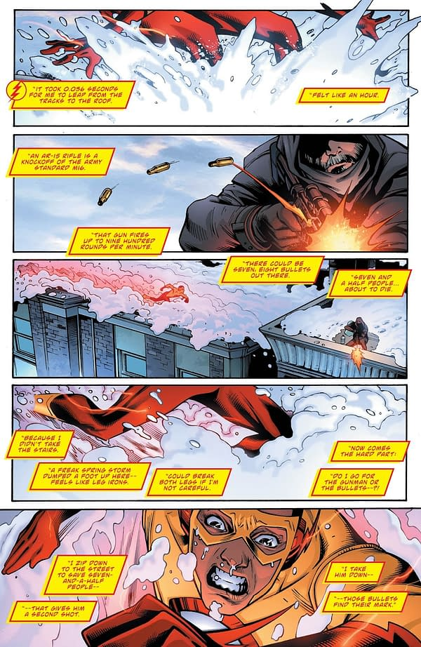 Deathstroke #24 art by Diogenes Neves and Jeromy Cox