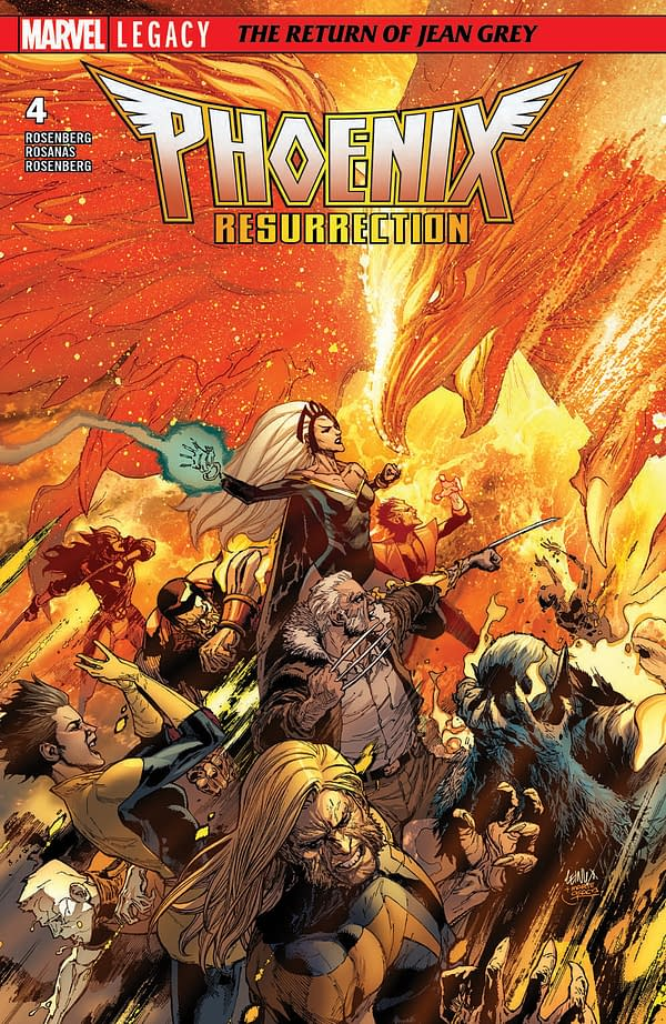 'Phoenix Resurrection' Is Weekly With Leinil Yu, Joined By Carlos Pacheco, Joe Bennett, Ramon Rosanas, And Khoi Pham