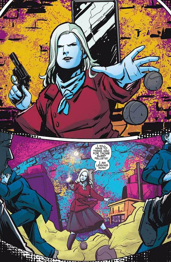 Writer's Commentary – Joe Gentile Talks Justice Inc.: The Avenger