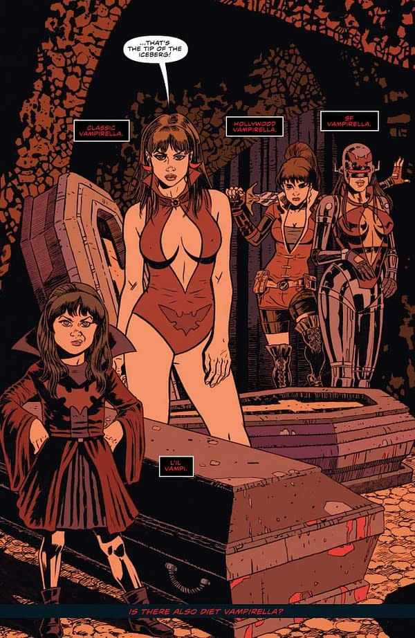 Writer's Commentary: Paul Cornell And Jeremy Whitley Talk Vampirella #7