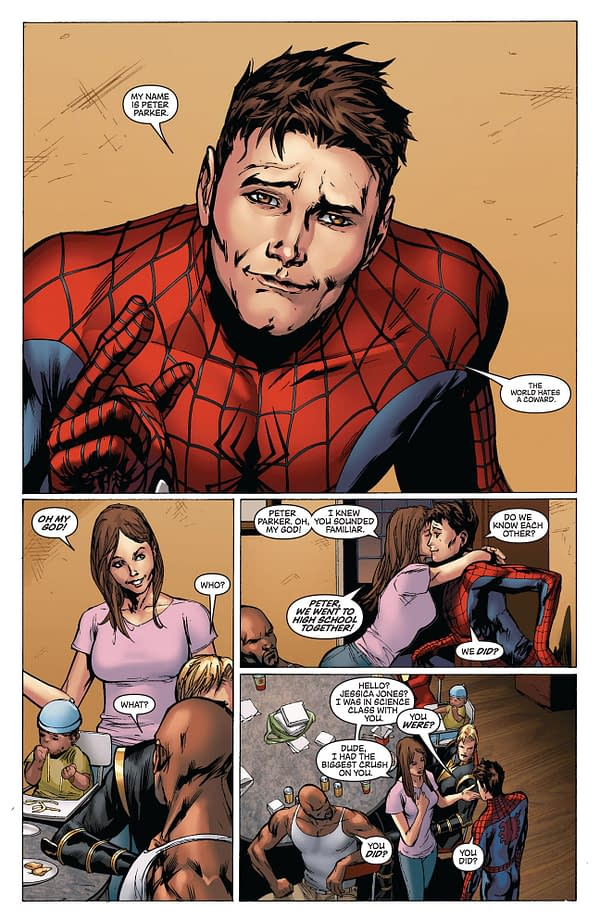 Did Stark Just Unmask Peter Parker To The World Again? Seriously?