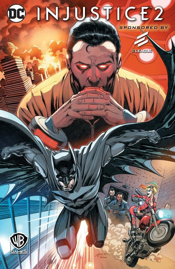 Comic Stores Get Free Copies Of Injustice 2 #1 To Promote ELEAGUE Championship