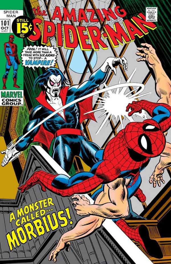 Report: Sony Developing Spider-Man Spinoff For Morbius the Living Vampire