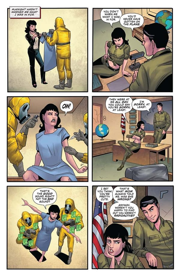 Writer's Commentary: David Avallone Talks Bettie Page #5