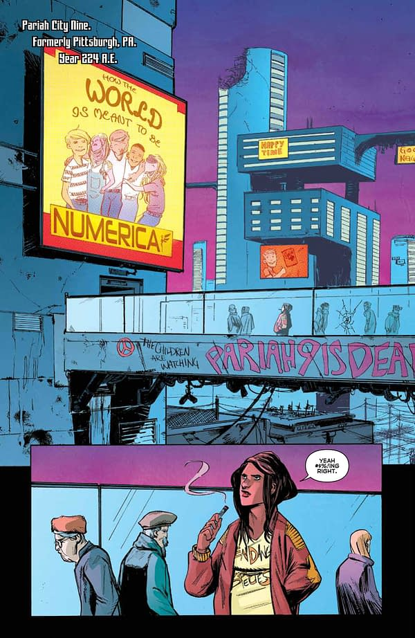 Eugenic #2 Review: The Future Looks Dark, Depressing And Distressingly Familiar