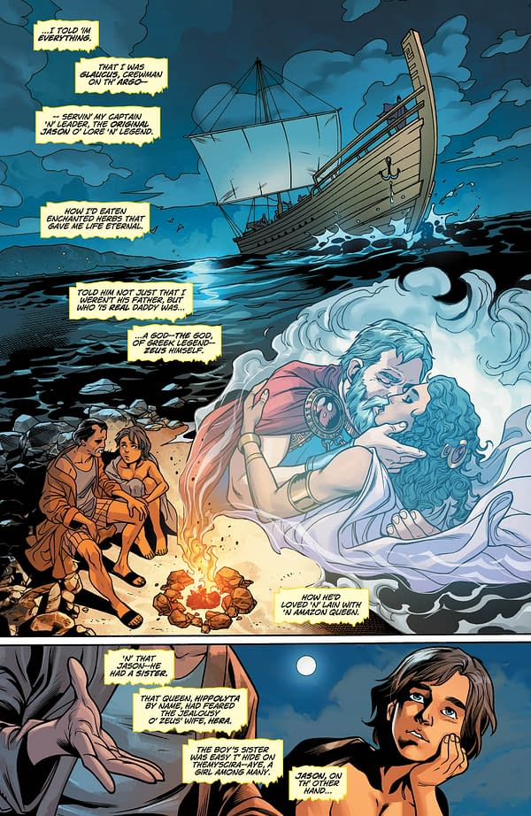 Get Your First Look At Origin Of Wonder Woman's Brother, Jason Woman, In Wonder Woman #35 Preview