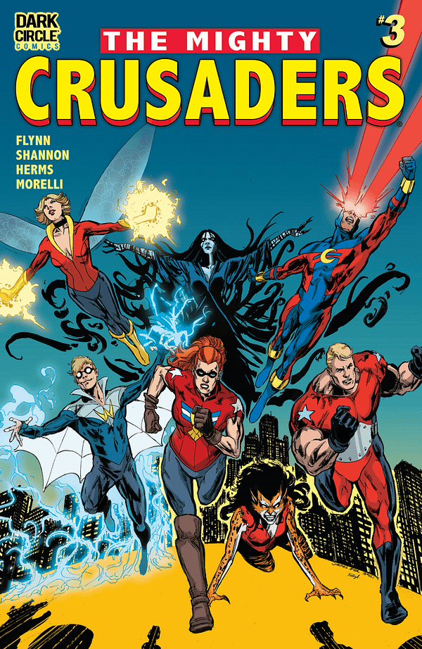The Mighty Crusaders Continue Their Fight For Justice: Dark Circle February 2018 Solicits