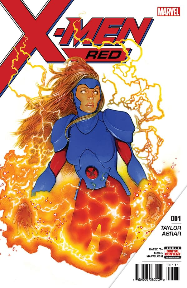 Marvel Drops More Details On New Ongoing Series X-Men Red
