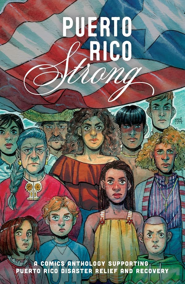 Puerto Rican Comic Creators Help Hurricane Maria Victims with Puerto Rico Strong, Announced at Library Con Live