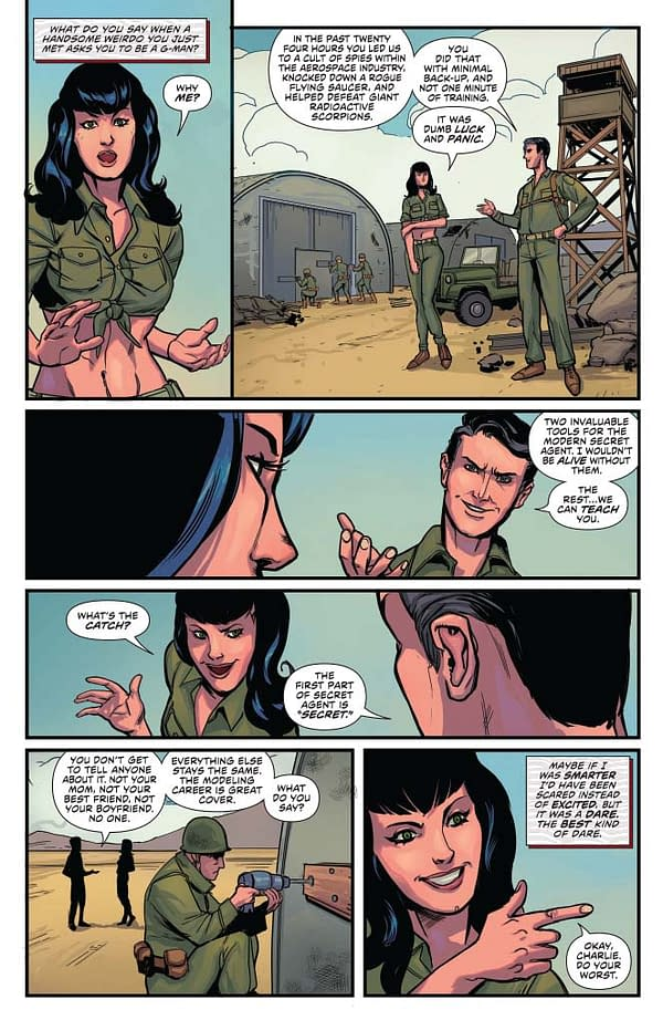 Writer's Commentary: David Avallone Talks Bettie Page #6