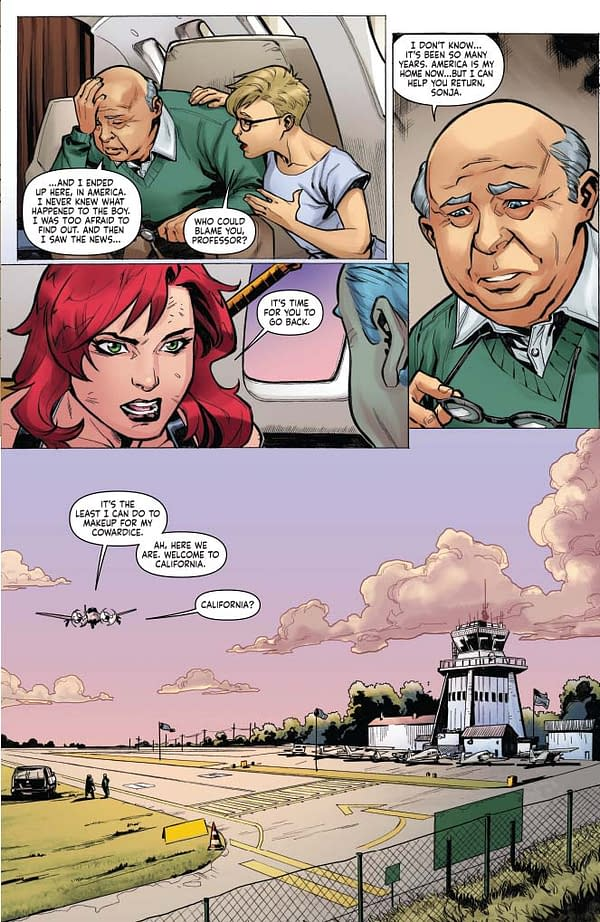 Writer's Commentary: Amy Chu Talks Red Sonja #11