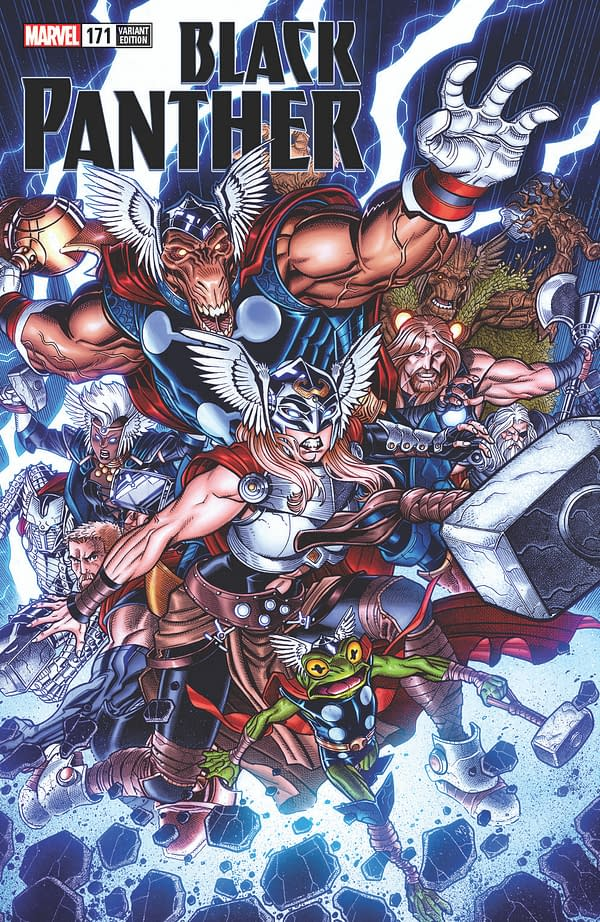 """Marvel Comics """"Celebrate"""" the Death of the Mighty Thor with Variant Covers"""