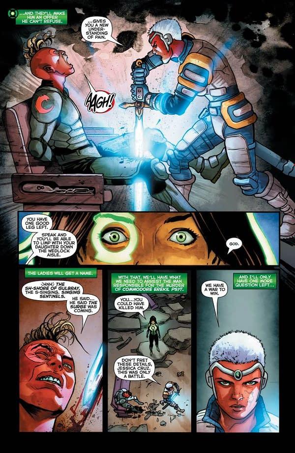 Green Lanterns #38 art by German Peralta and Ulises Arreola