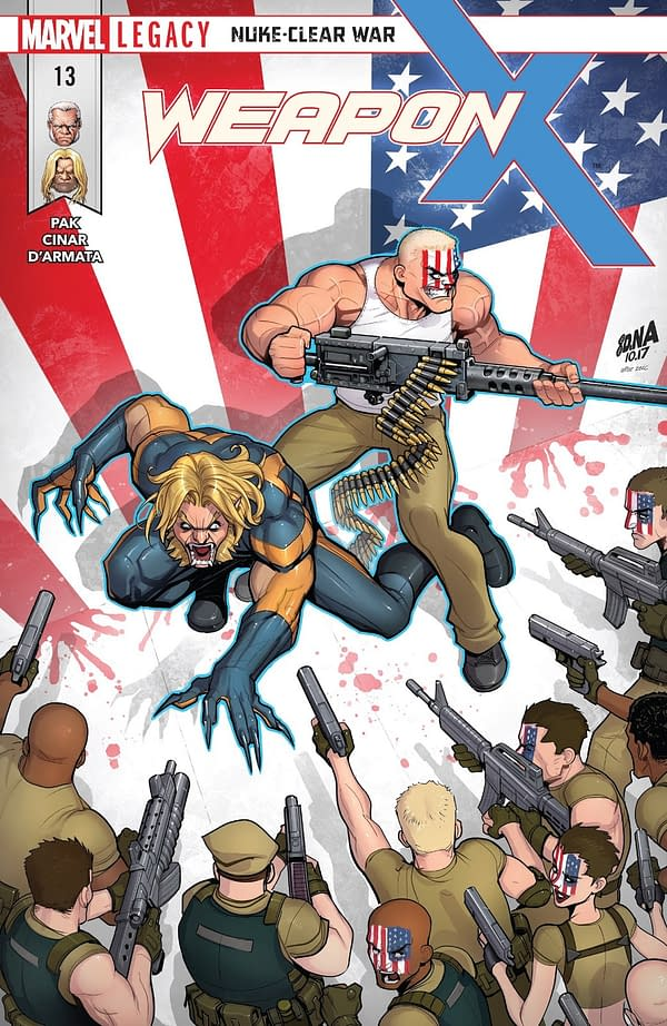 X-Men: Bland Design – Making Santo Marco Great Again in Weapon X #13