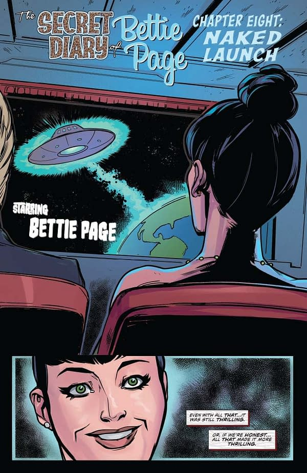 Writer's Commentary: David Avallone Talks the Final Issue of Bettie Page
