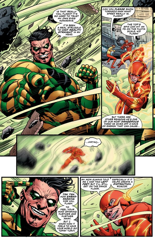The Flash Annual #1 art by Christian Duce, Howard Porter, and Hi-Fi