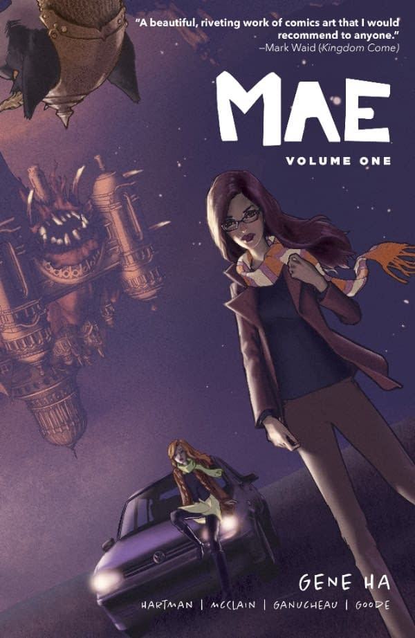 Gene Ha's Mae Comes to Lion Forge with New Series