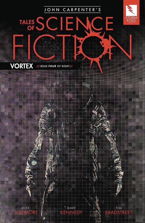 John Carpenter's Tales of Science Fiction: Vortex #4 cover by Tim Bradstreet