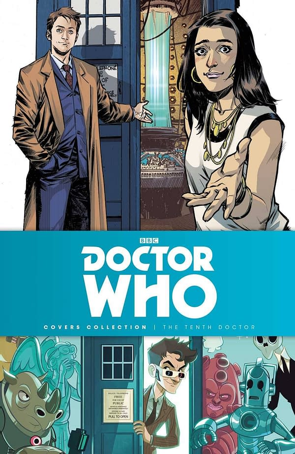 Tenth Doctor Gets a Cover Collection from Titan in July