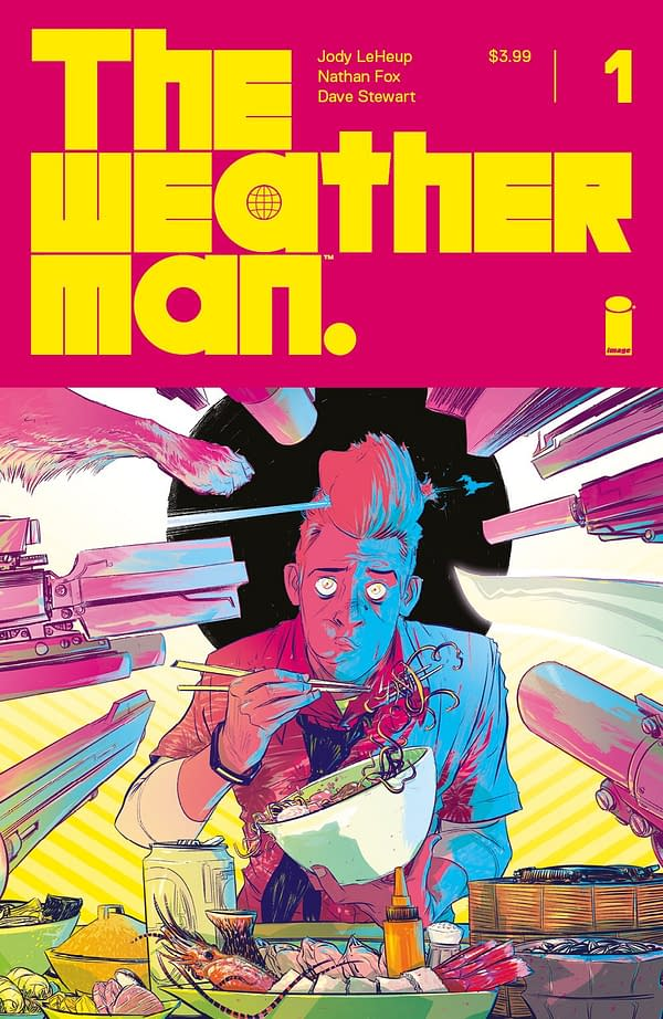 #ImageExpo Gets Meteorological with The Weatherman from Jody LeHeup, Nathan Fox, and Dave Stewart