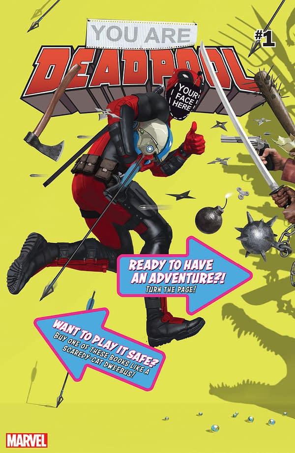 Choose Your Own Deadpool Story – Or Die!