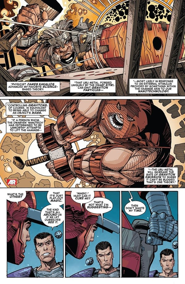Mark Waid Explains How Thor Can Lift Mjolnir, But No One Else Can (Again)