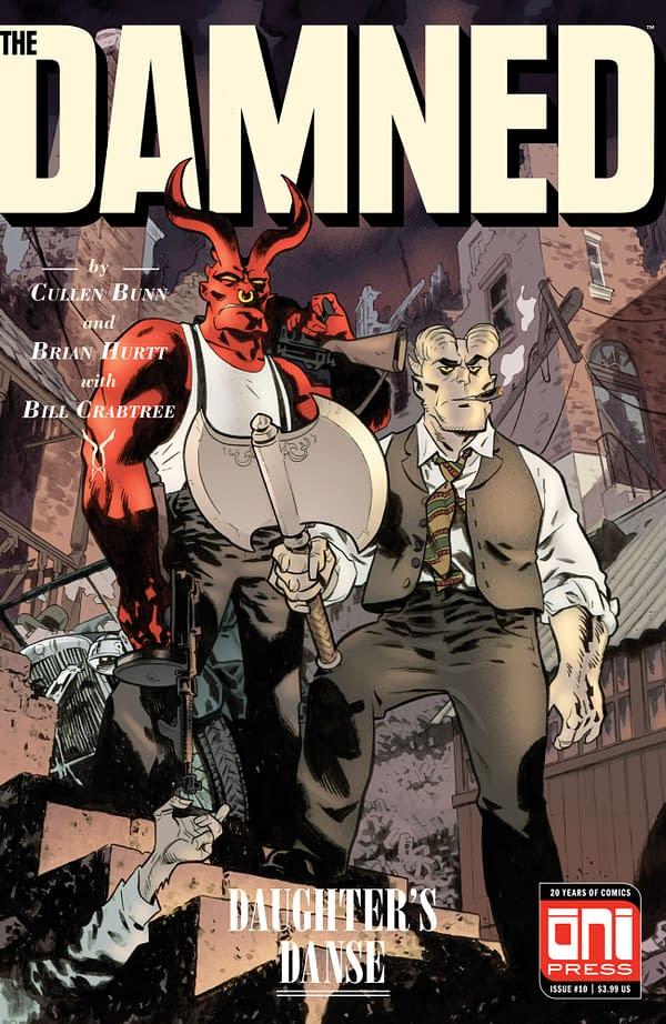 Cullen Bunn and Brian Hurtt Reunite for Shadow Roads: Oni Press June 2018 Solicits