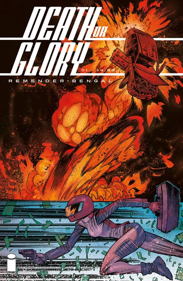 Remender and Bengal's Death or Glory Gets a Racy Trailer