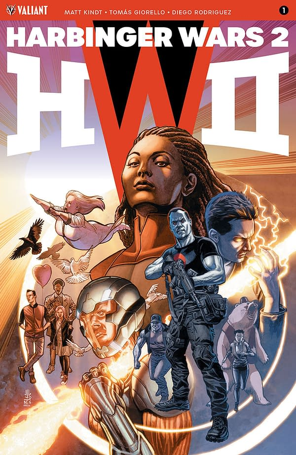Bask in the Glory of Your First Look at Valiant's Harbinger Wars 2… While You Still Can