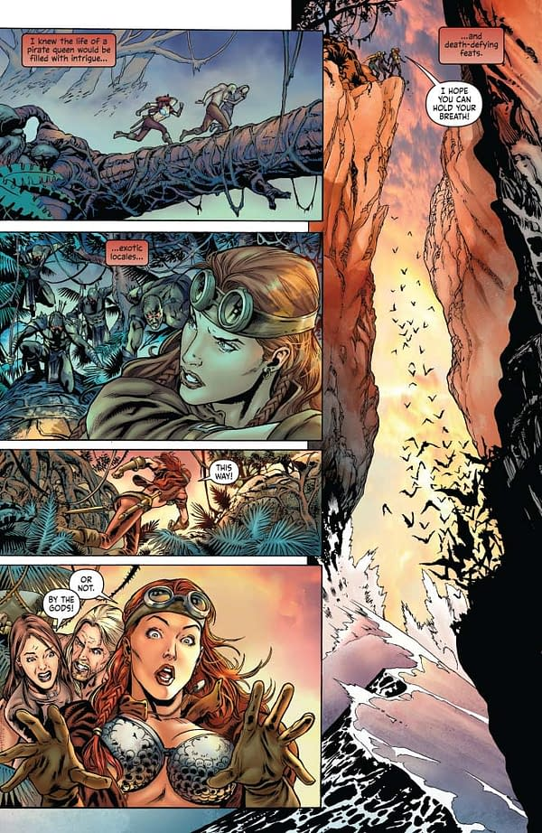 Writer's Commentary: Marc Andreyko on Legenderry Red Sonja #2