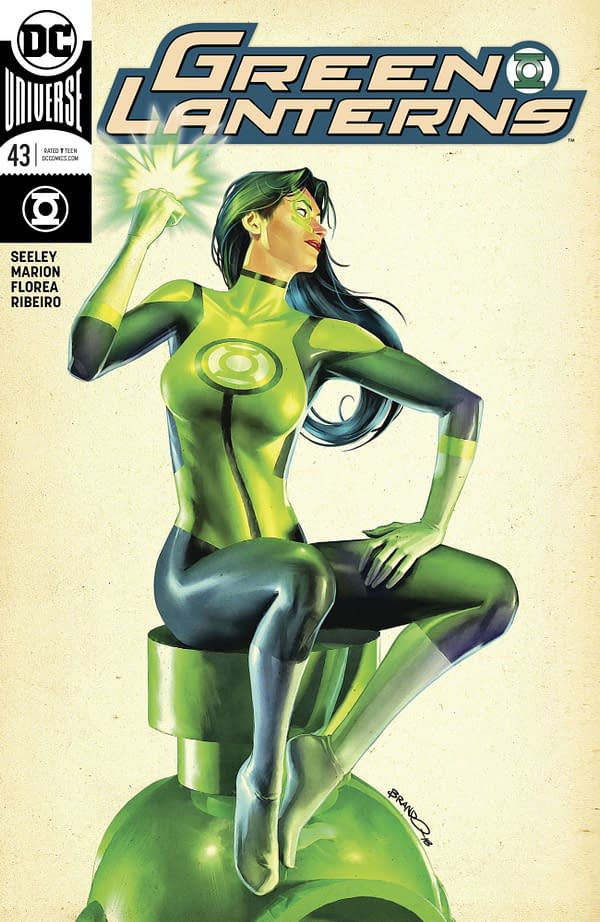 13 DC Comics Covers for March and April from Jenny Frison, Dave Johnson, Kevin Eastman, and More